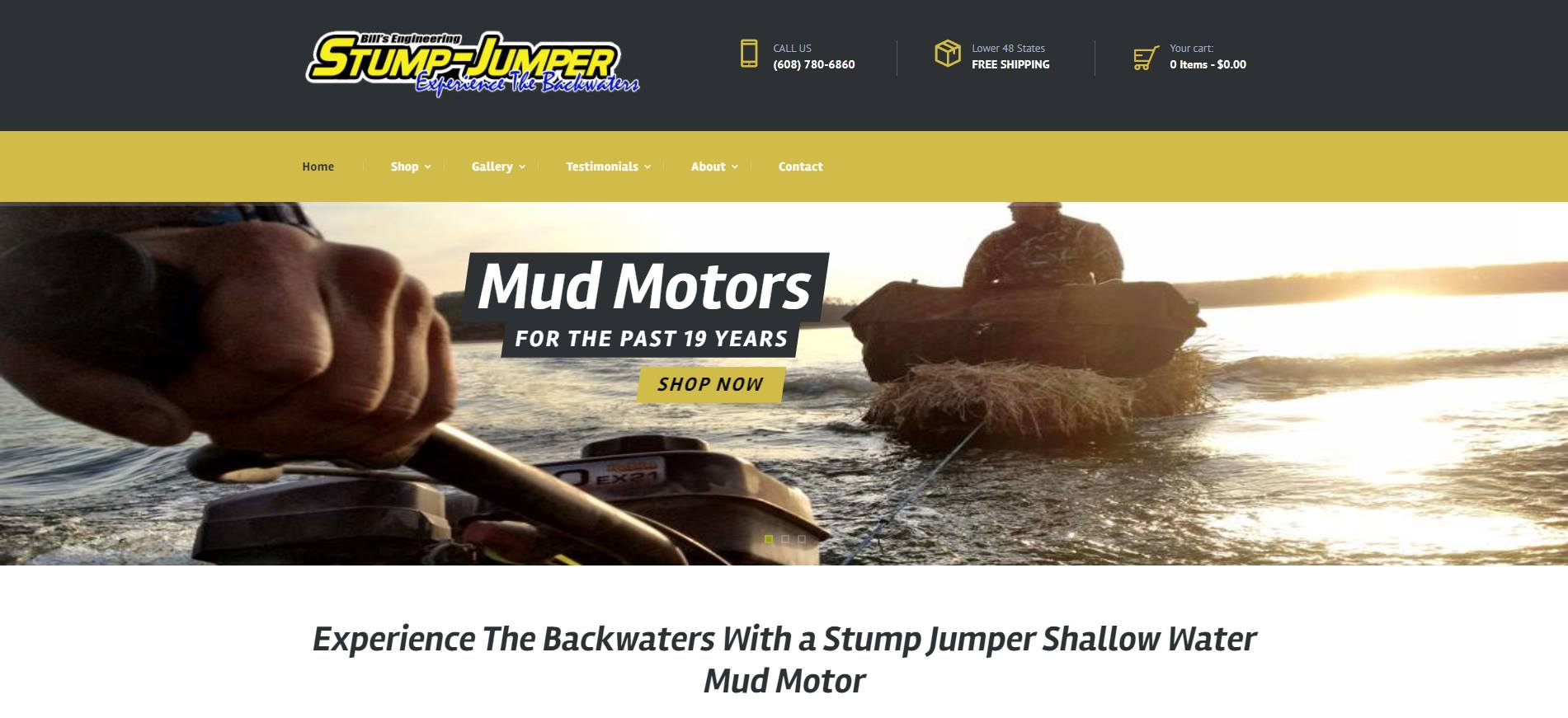 Stump-Jumper Mud Motors - Most Reliable Mud Motor in the