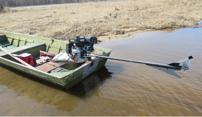 13hp Predator engine on boat